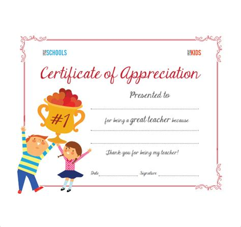 Sample Thank You Certificate Template - 10+ Documents
